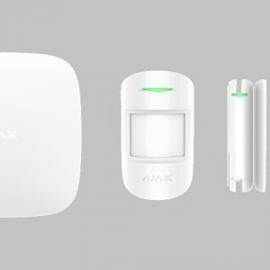 Ajax StarterKit peruspaketti sisältää kaiken mitä tarvitset kiinteistön turvaamiseen