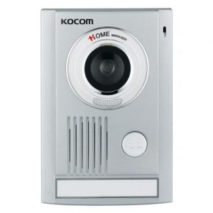 KC-MC32 video-ovipuhelimen ulkokoje. Liitettävissä KCV-D372-VALK monitoriin