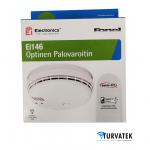 EI146 sähkönumero 7137663 EI Electronics optinen palovaroitin Turvatek