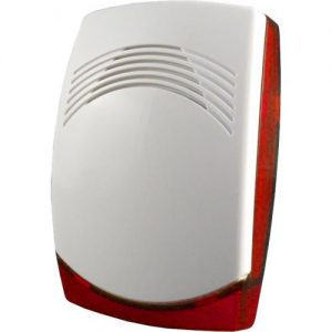 Sireeni 115dB G3 punaisella vilkulla