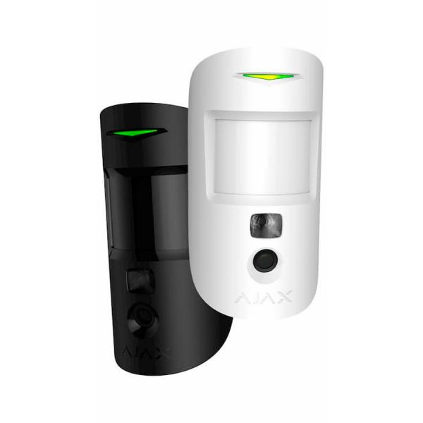 Ajax MotionCam kameralla varustettu liiketunnistin liiketunnistinkamera musta valkoinen