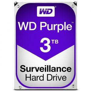 Kovalevy tallentavalle kameravalvonnalle WD 3 TB