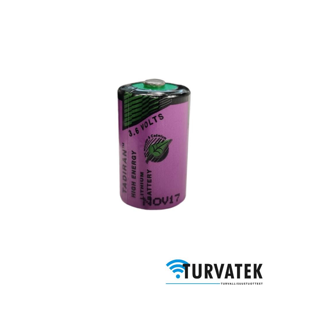 Tadiran SL-750 1/2AA 3,6 V litiumparisto