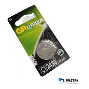 GP Lithium CR2430 paristo