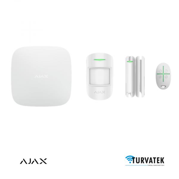 Ajax Hub Plus Starterkit aloituspaketti kodin murtohälytin langaton