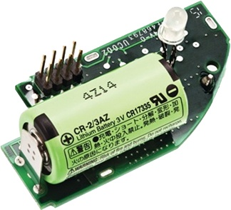 EI600MRF radiolink moduuli akkutoimisille