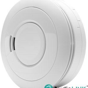 EI650IW on akkutoiminen optinen palovaroitin, jossa on älykäs AudioLINK-toiminto.
